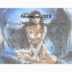 Clr By Majo   Wall Calendar 11  X 8 5  (12 Months)   Mayg9authvdu   Www Artscow Com Nov 2013