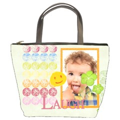 Kids, Fun, Child, Play, Happy By Jo Jo   Bucket Bag   2grg87to60wk   Www Artscow Com Front