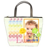 kids, fun, child, play, happy - Bucket Bag