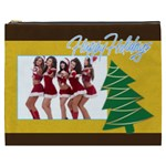 merry christmas, happy new year, xmas - Cosmetic Bag (XXXL)
