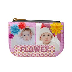 Flower Kids By Betty   Mini Coin Purse   Nvdjbnz8bj98   Www Artscow Com Front