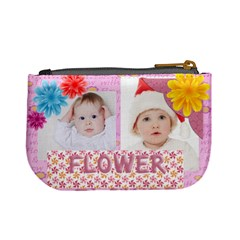 Flower Kids By Betty   Mini Coin Purse   Nvdjbnz8bj98   Www Artscow Com Back