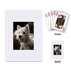 Westie Puppy Standard Playing Cards by Koalasandkangasplus