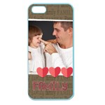 kids, fun, child, play, happy, fathers day - Apple Seamless iPhone 5 Case (Color)