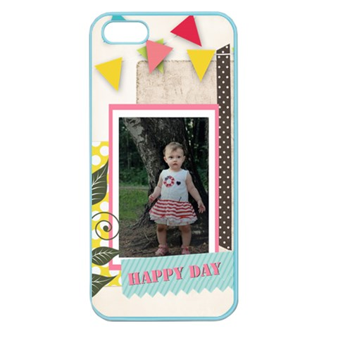 Kids, Fun, Child, Play, Happy By Jo Jo   Apple Seamless Iphone 5 Case (color)   Kbzalak7a8j8   Www Artscow Com Front