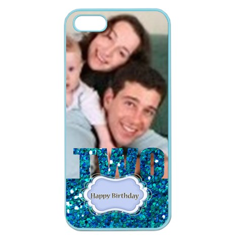 Happy Birthday By Joely   Apple Seamless Iphone 5 Case (color)   9m5r3qs1hmb9   Www Artscow Com Front