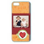 love of music - Apple Seamless iPhone 5 Case (Color)