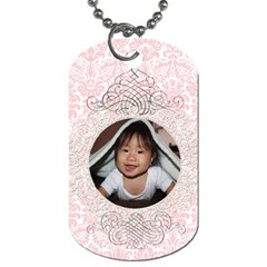 Haven 2side Dogtag By Audrey Purwadihardja   Dog Tag (two Sides)   Ev3agu6bducn   Www Artscow Com Back