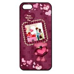 Valentines - Apple iPhone 5 Seamless Case (Black)