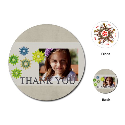 Kids, Fun, Child, Play, Happy By Jacob   Playing Cards (round)   24kl09m6k5vm   Www Artscow Com Front
