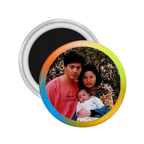 Kc Susan By Lee Suk Ling   2 25  Magnet   F5c49trxshaa   Www Artscow Com Front