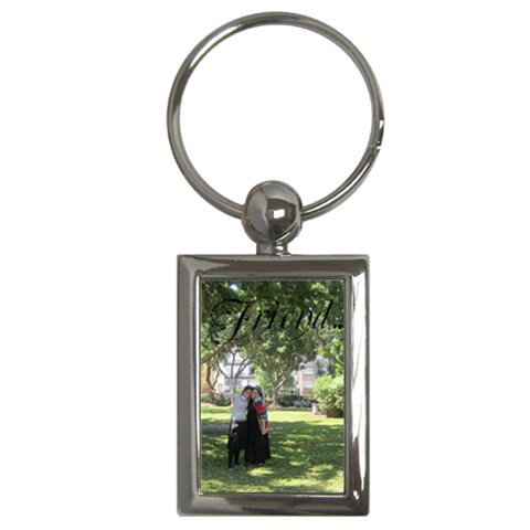 Ng Key By Esteem770   Key Chain (rectangle)   3pdhmb3lugvu   Www Artscow Com Front