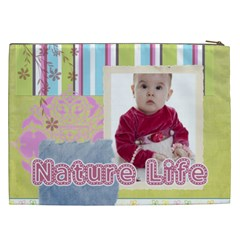 Kids, Fun, Child, Play, Happy By Debe Lee   Cosmetic Bag (xxl)   Ph7tygbpftfe   Www Artscow Com Back