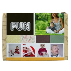Kids, Fun, Child, Play, Happy By Debe Lee   Cosmetic Bag (xxl)   5gc9s7bvmhp2   Www Artscow Com Back