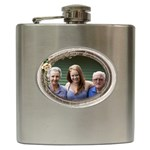 Celebration Hip Flask - Hip Flask (6 oz)