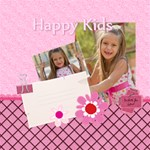 happy kids - ScrapBook Page 12  x 12