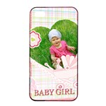 baby girl - Apple iPhone 4/4s Seamless Case (Black)