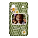 flower , kids, happy, fun, green - Samsung Galaxy SL i9003 Hardshell Case
