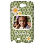 flower , kids, happy, fun, green - Samsung Galaxy Note 2 Hardshell Case