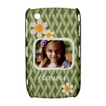 flower , kids, happy, fun, green - BlackBerry Curve 8520 9300 Hardshell Case