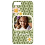 flower , kids, happy, fun, green - Apple iPhone 5 Classic Hardshell Case