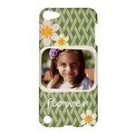 flower , kids, happy, fun, green - Apple iPod Touch 5 Hardshell Case