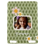 flower , kids, happy, fun, green - Kindle Touch 3G Hardshell Case