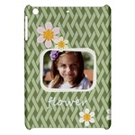 flower , kids, happy, fun, green - Apple iPad Mini Hardshell Case