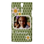 flower , kids, happy, fun, green - Sony Ericsson Xperia S Hardshell Case
