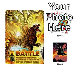 Gojira By Andrewzipp   Playing Cards 54 Designs   Rugflsf7djwv   Www Artscow Com Front - Club2