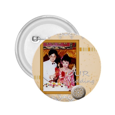 Kc Wedding By Lee Suk Ling   2 25  Button   Qaopkyqofwbu   Www Artscow Com Front