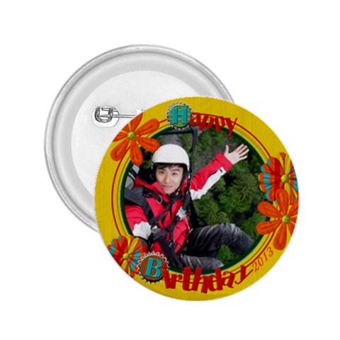 Kc Eddie By Lee Suk Ling   2 25  Button   L7jsmwqmnj7g   Www Artscow Com Front
