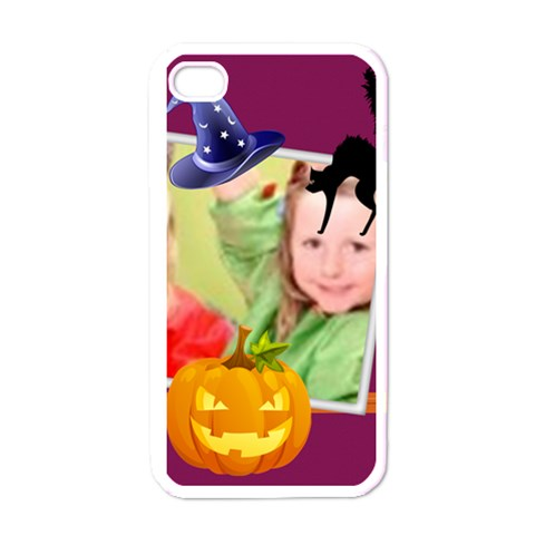 Kids, Happy, Fun, Play, Family By Mac Book   Apple Iphone 4 Case (white)   Hlxecnpof7qr   Www Artscow Com Front