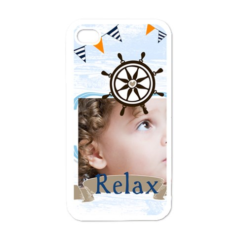 Kids, Happy, Fun, Play, Family By Mac Book   Apple Iphone 4 Case (white)   Ix0x3390p5bi   Www Artscow Com Front