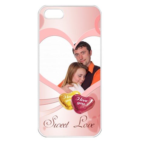 Love By Wood Johnson   Apple Iphone 5 Seamless Case (white)   9vj1mcswesh8   Www Artscow Com Front