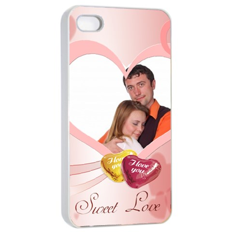 Love By Wood Johnson   Apple Iphone 4/4s Seamless Case (white)   Ypp8bw3d8cid   Www Artscow Com Front