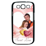 love - Samsung Galaxy S III Case (Black)