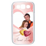 love - Samsung Galaxy S III Case (White)
