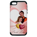 love - Apple iPhone 5 Hardshell Case (PC+Silicone)