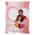 love - Apple iPad 3/4 Hardshell Case (Compatible with Smart Cover)