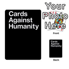 Cards Against Humanity E1 1 By Erik   Multi Purpose Cards (rectangle)   4ady8l0m54a8   Www Artscow Com Back 1