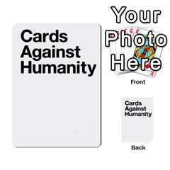 Cards Against Humanity E1 1 By Erik   Multi Purpose Cards (rectangle)   4ady8l0m54a8   Www Artscow Com Back 53