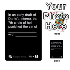 Cards Against Humanity E1 1 By Erik   Multi Purpose Cards (rectangle)   4ady8l0m54a8   Www Artscow Com Front 8