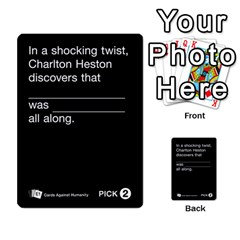 Cards Against Humanity E1 1 By Erik   Multi Purpose Cards (rectangle)   4ady8l0m54a8   Www Artscow Com Front 10