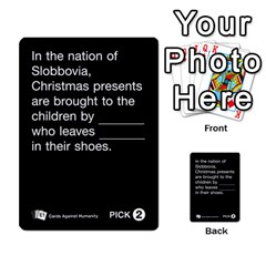 Cards Against Humanity E1 1 By Erik   Multi Purpose Cards (rectangle)   4ady8l0m54a8   Www Artscow Com Front 12