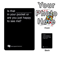 Cards Against Humanity E1 1 By Erik   Multi Purpose Cards (rectangle)   4ady8l0m54a8   Www Artscow Com Front 14