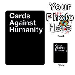 Cards Against Humanity E1 1 By Erik   Multi Purpose Cards (rectangle)   4ady8l0m54a8   Www Artscow Com Back 16