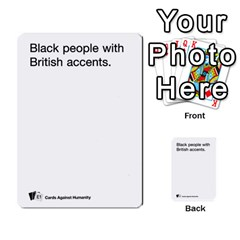 Cards Against Humanity E1 1 By Erik   Multi Purpose Cards (rectangle)   4ady8l0m54a8   Www Artscow Com Front 44