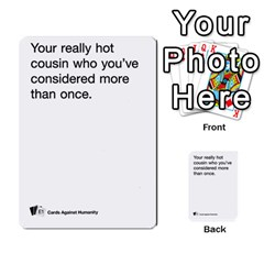 Cards Against Humanity E1 2 By Erik   Multi Purpose Cards (rectangle)   Z7dhs0hxdibl   Www Artscow Com Front 6