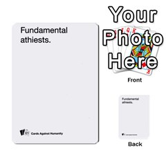 Cards Against Humanity E1 2 By Erik   Multi Purpose Cards (rectangle)   Z7dhs0hxdibl   Www Artscow Com Front 54